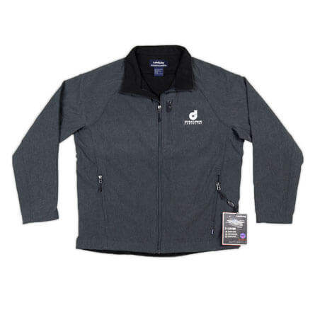 Men's Soft Shell Full Zip Jacket - Additional Color Options