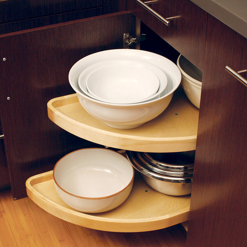 Blind Corner Base Options from Dura Supreme Cabinetry