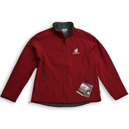 Women's Soft Shell Full Zip Jacket - Additional Color Options