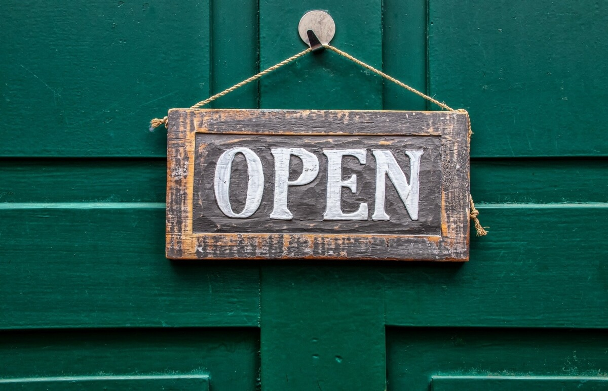 Let clients know that you are OPEN for business