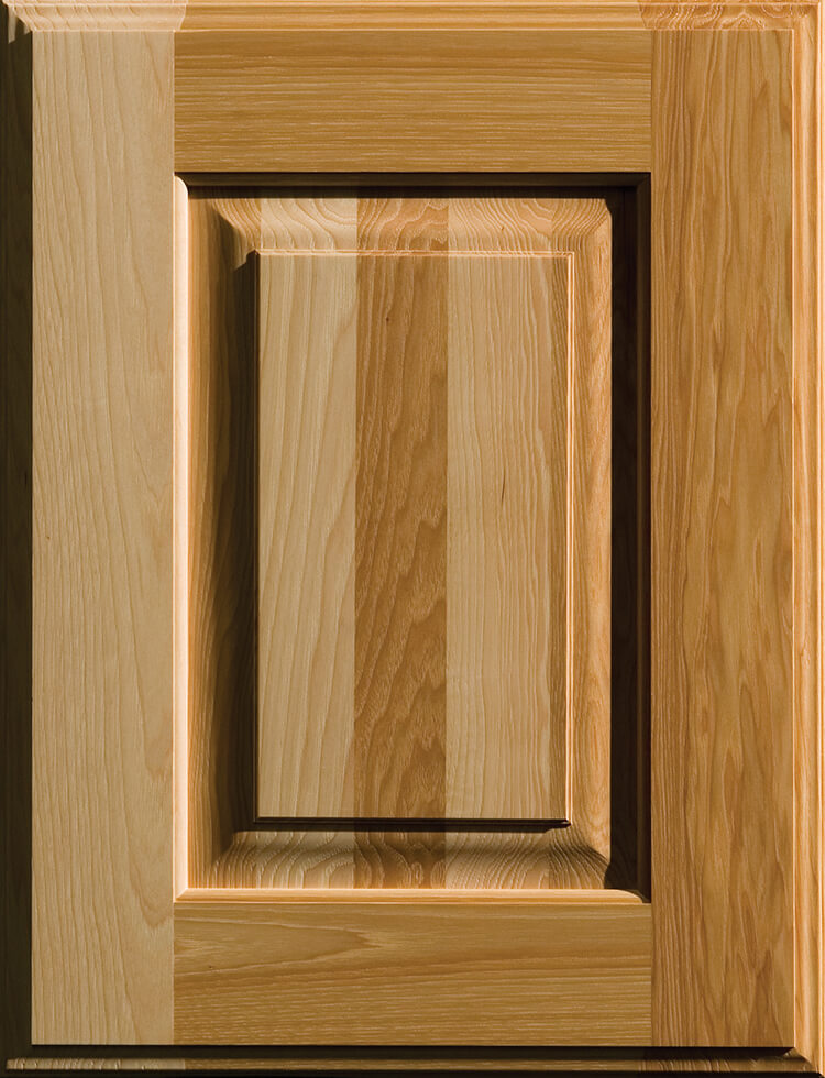 Hickory Cabinets from Dura Supreme Cabinetry. Kitchen cabinet wood material options.
