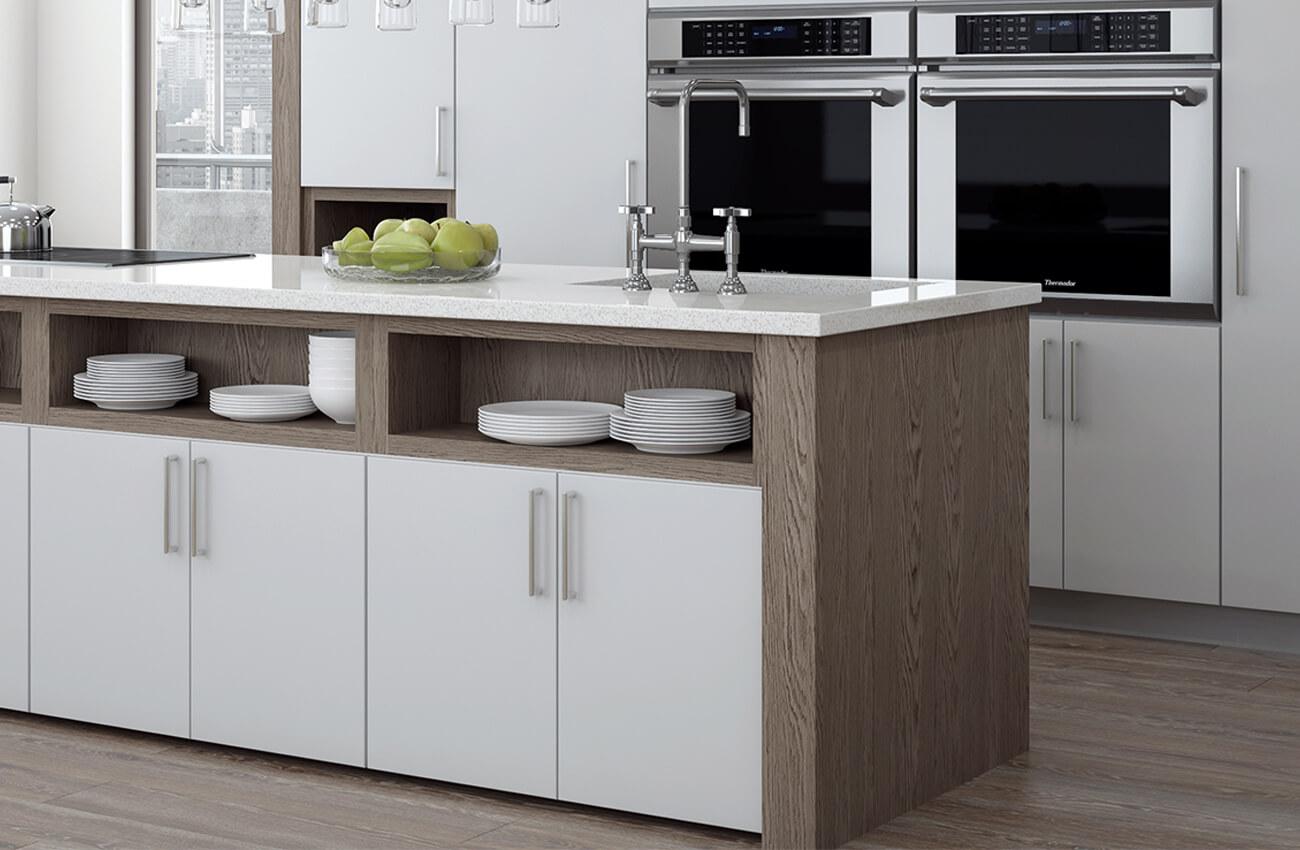 Matte Foil Cabinets