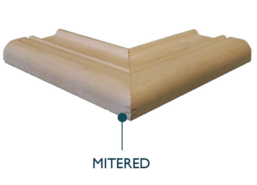 Mitered Cabinet Door Construction Method