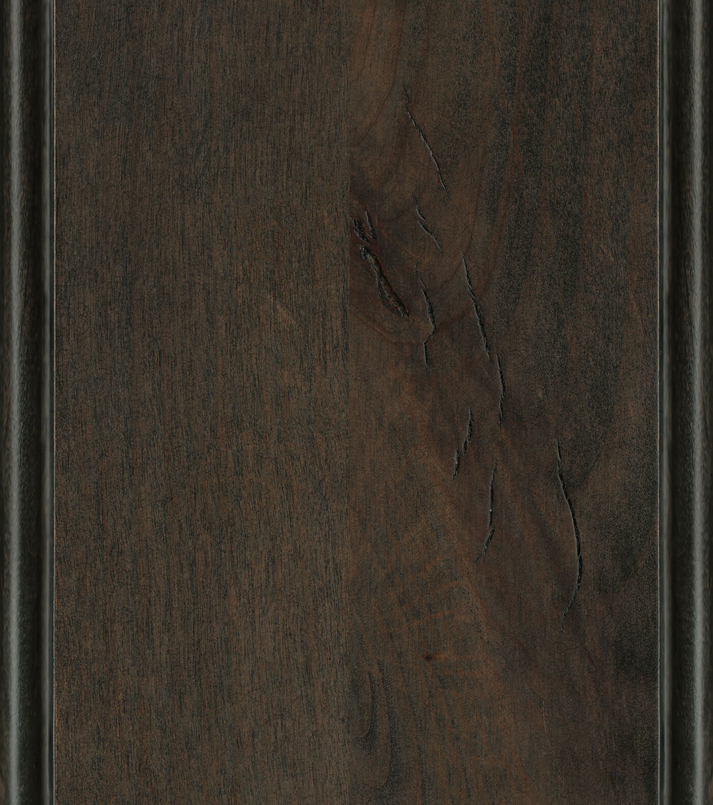 Caraway Stain on Knotty Alder