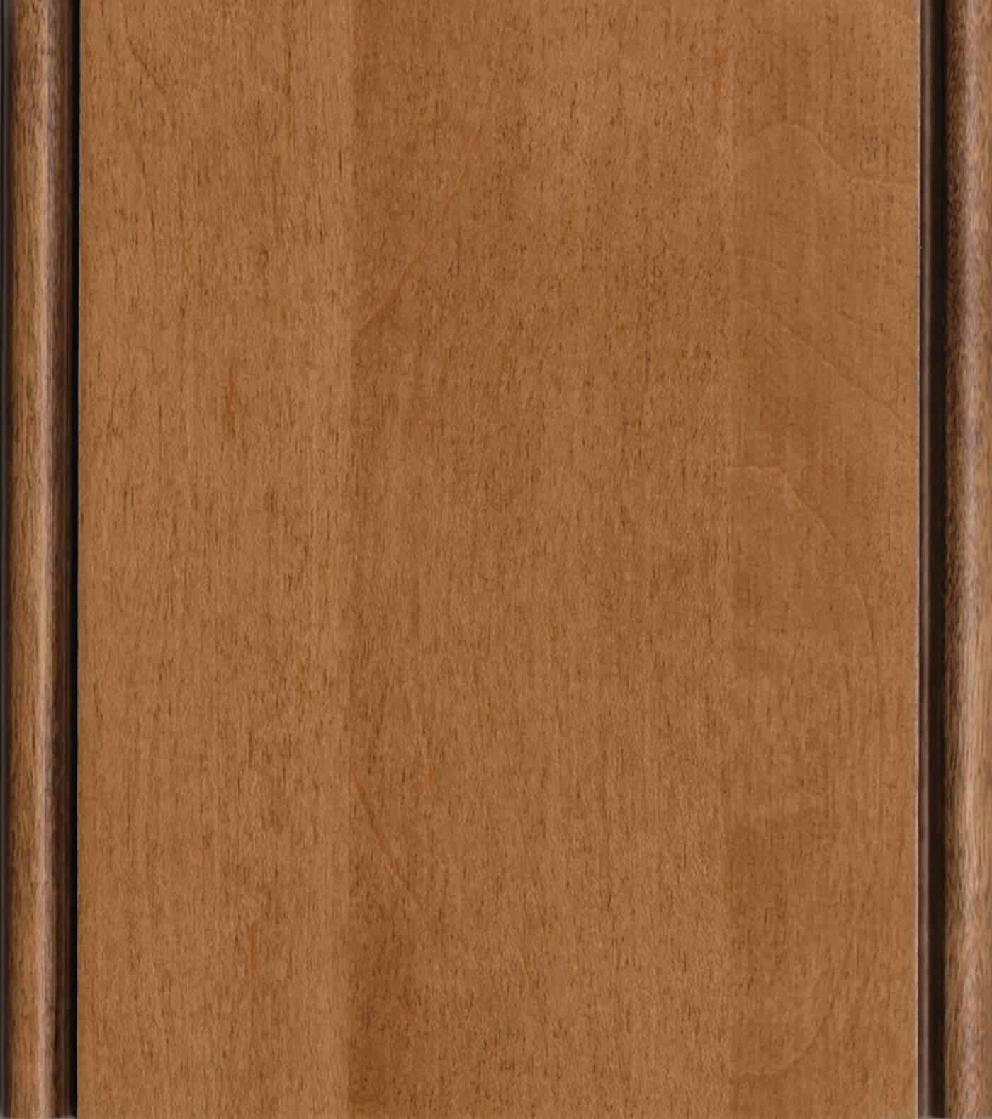 Clove / Black Accent Stain/Glaze on Maple