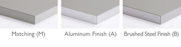 Laminate Cabinets Edgeband Options.