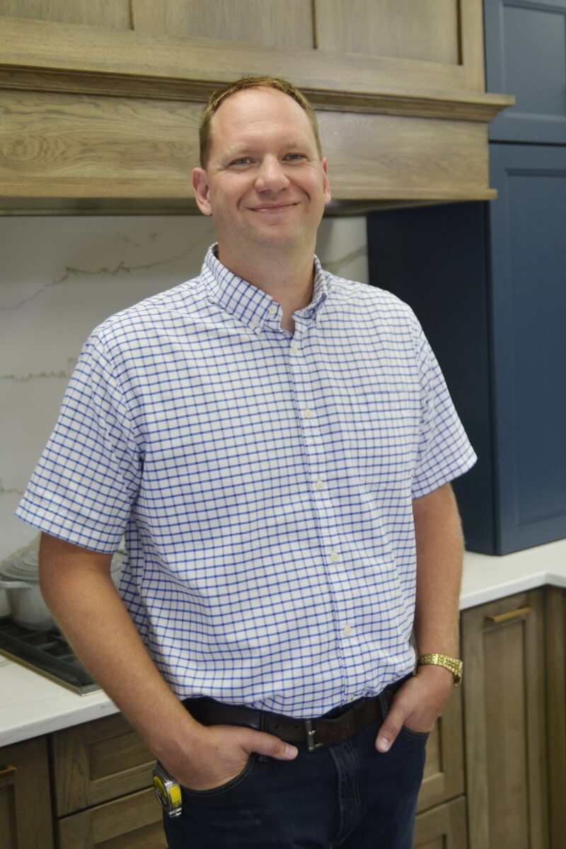 Dura Supreme Cabinetry's Manufacturing Engineer Manager, Eric Schwarzkopf