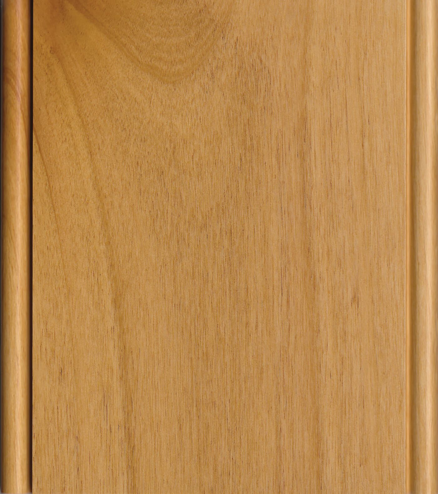 Natural Finish on Knotty Alder