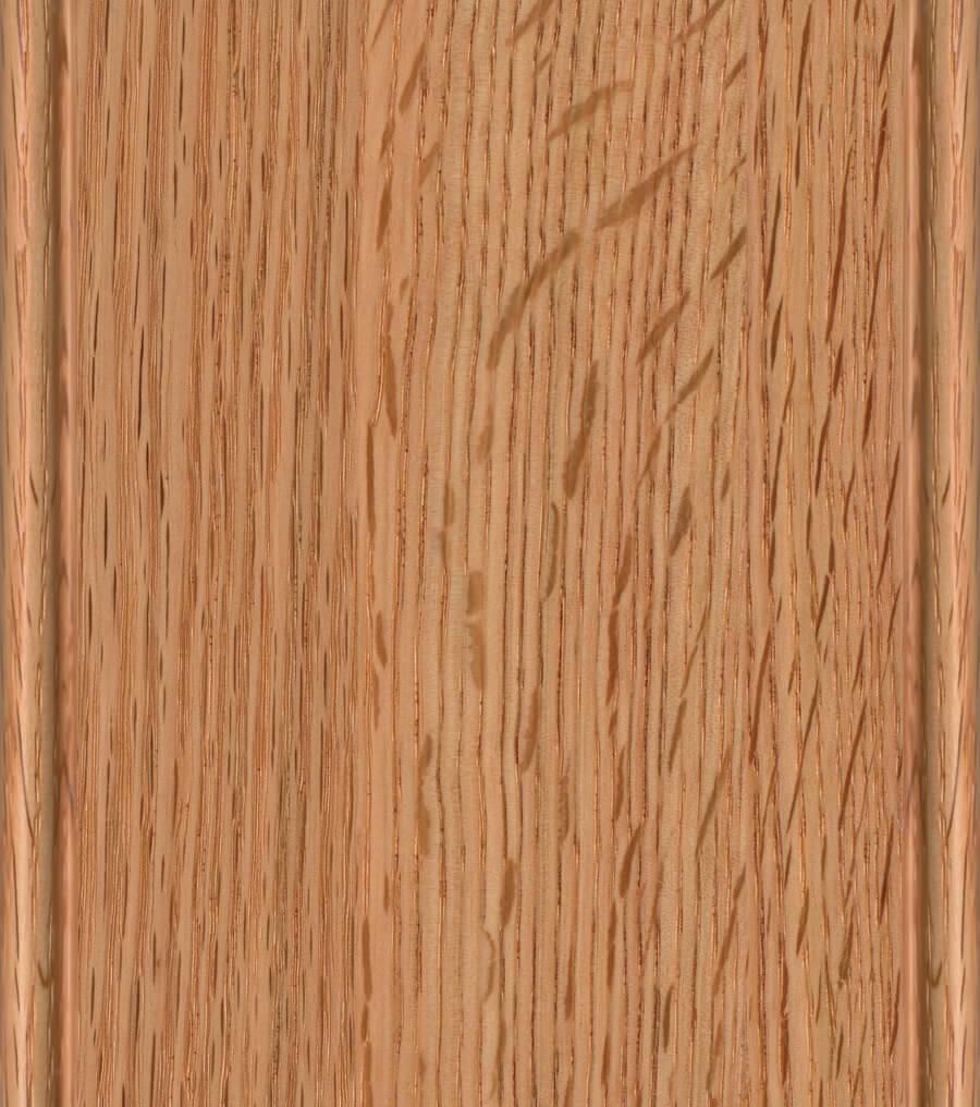 Natural Finish on Red Oak or Quarter-Sawn Red Oak