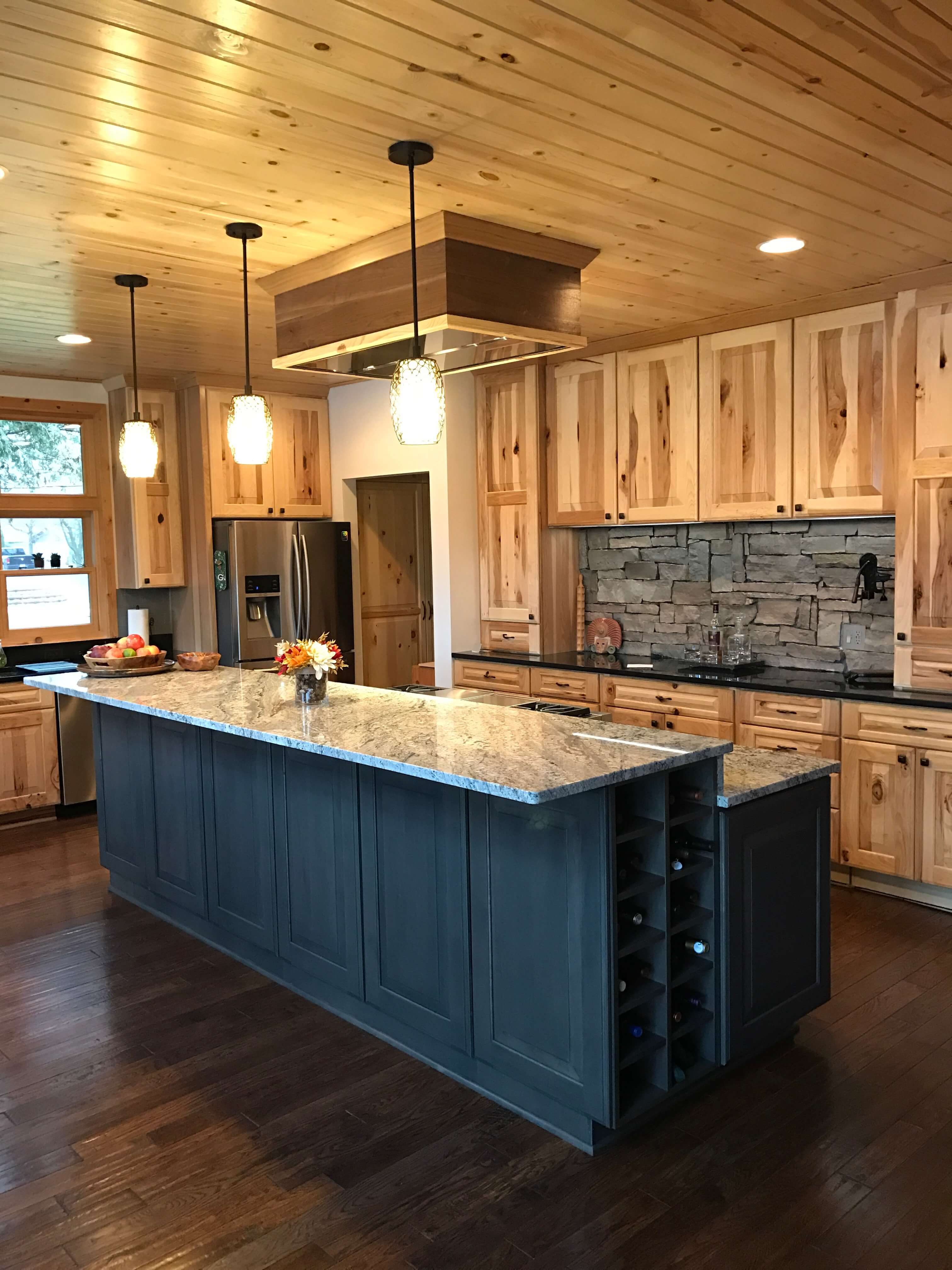 Knotty And Nice Part 2 Explore The Options With Hickory Rustic Hickory Cabinetry Dura Supreme Cabinetry