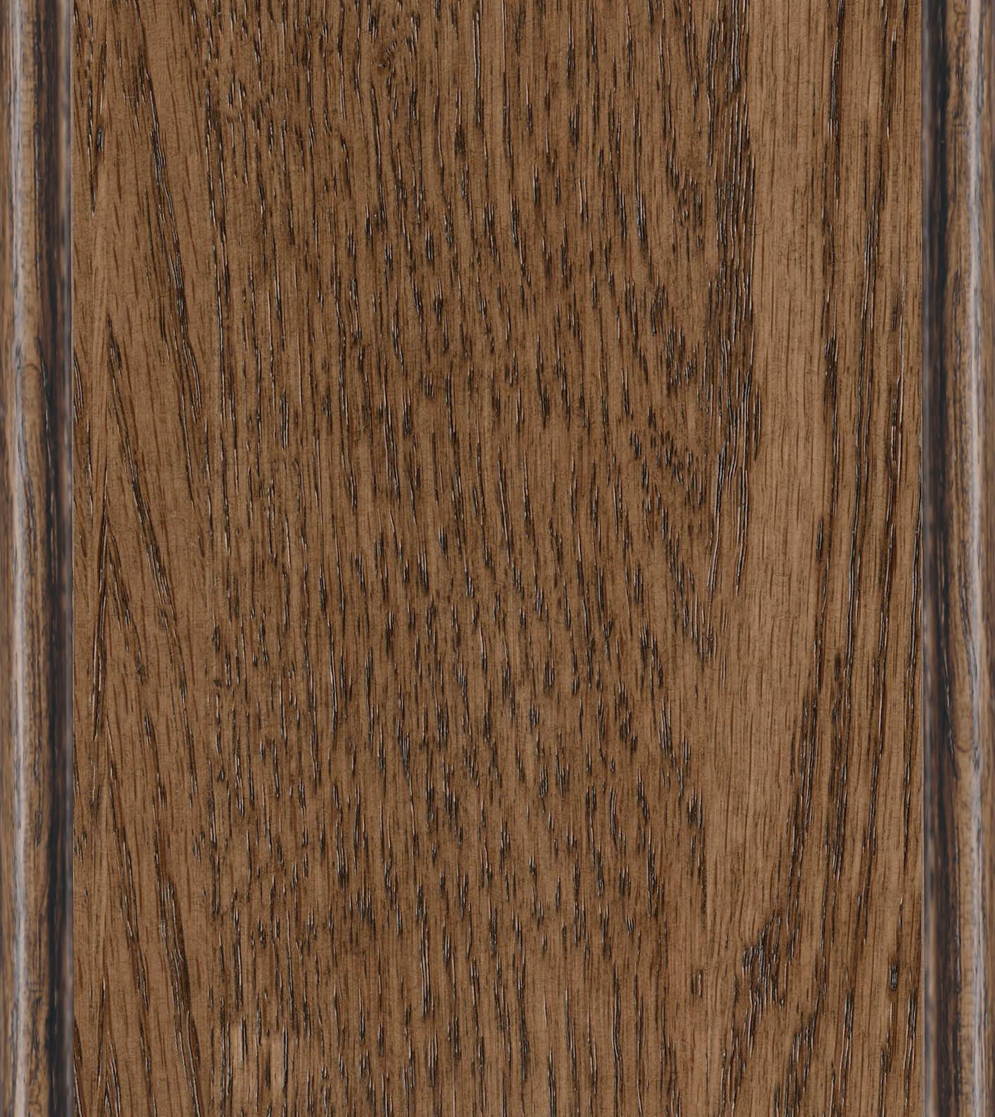 Hazelnut Stain on Red Oak