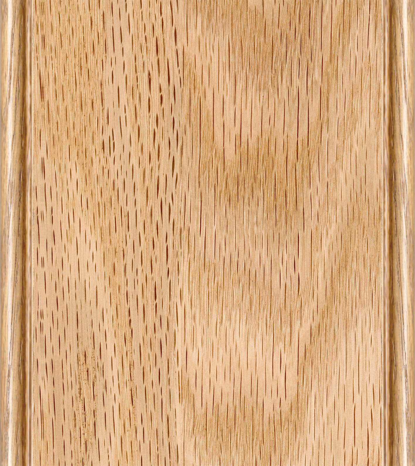 Natural Finish on Red Oak