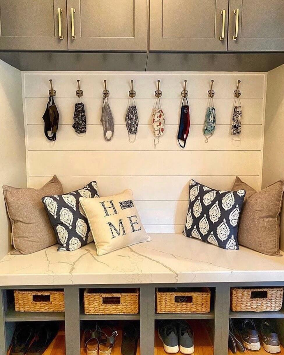 Design by Carr Home Improvements with Top Knobs hardware