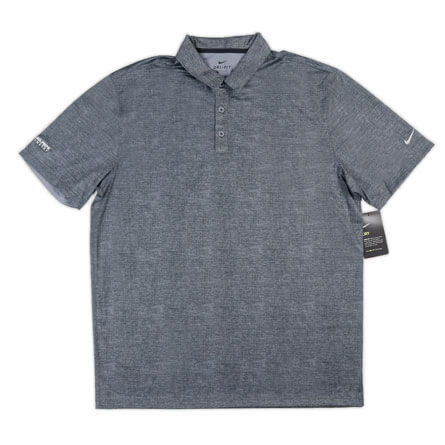 Men's Nike Dri-FIT Crosshatch Polo Shirt - Additional Color Options