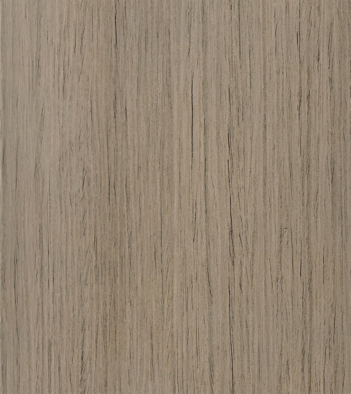 Cashew Stain on Straight Grain Oak Exotic Veneer
